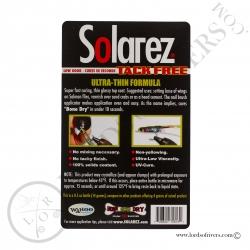 Solarez TRES SEC Formule Ultra Mince Notice