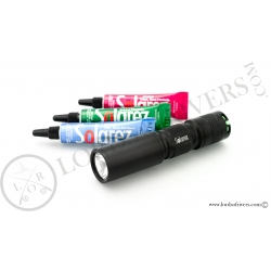 ROADIE Kit (3 pack 5 grs kit + Mini UVA Flashlight)