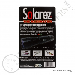 Solarez High Output UVA Flashlight Kit UV Instructions