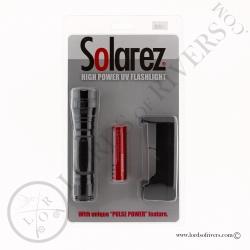 Solarez Lampe UV grand modèle avec chargeur Pack