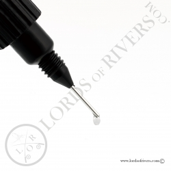 Syringe-cap applicator for Solarez resin bottles drop