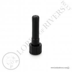 Syringe-cap applicator for Solarez resin bottles