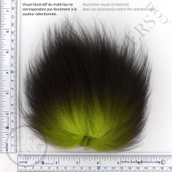 Foxy-Tails Dyed Silver Fox Illus. 1