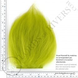 Foxy-Tails Nayat Hair Pelt Patch Brigth Green illus. 2