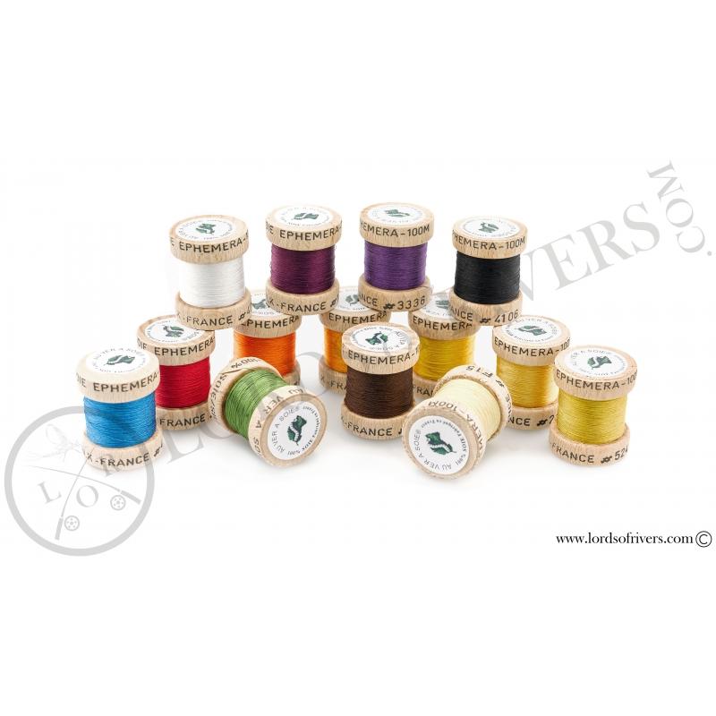 Pack sélection Calzolari de 14 nuances Soie Ephemera Au Ver à Soie