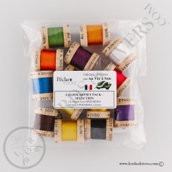 Pack sélection Calzolari - Soie Ephemera Au Ver à Soie Pack