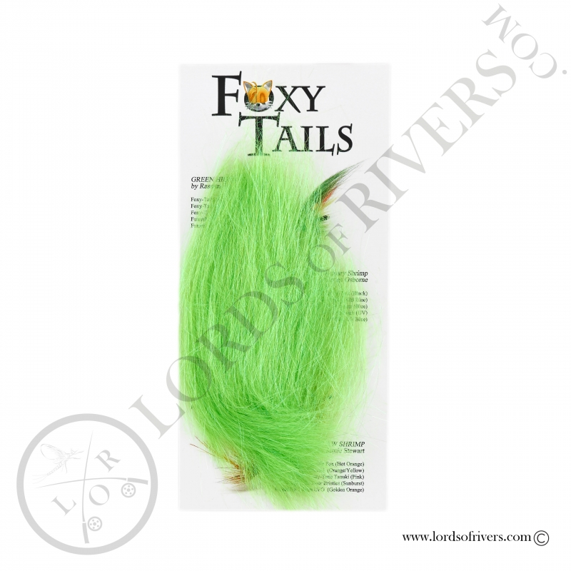 FoxyTails Optic Fibre Electric Lime